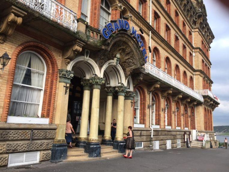 Het Grand Hotel is Scarborough. Beeld Wim Boevin000