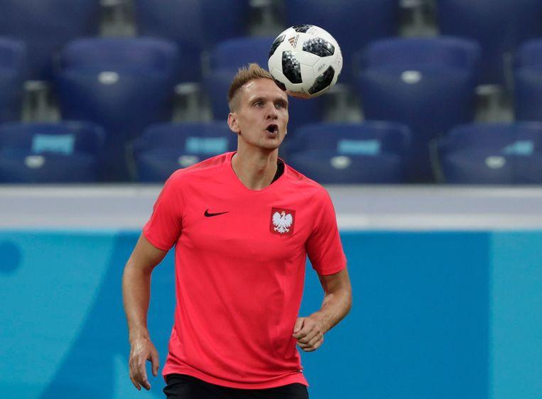 Lukasz Teodorczyk was op het WK namens Polen actief voor Anderlecht.