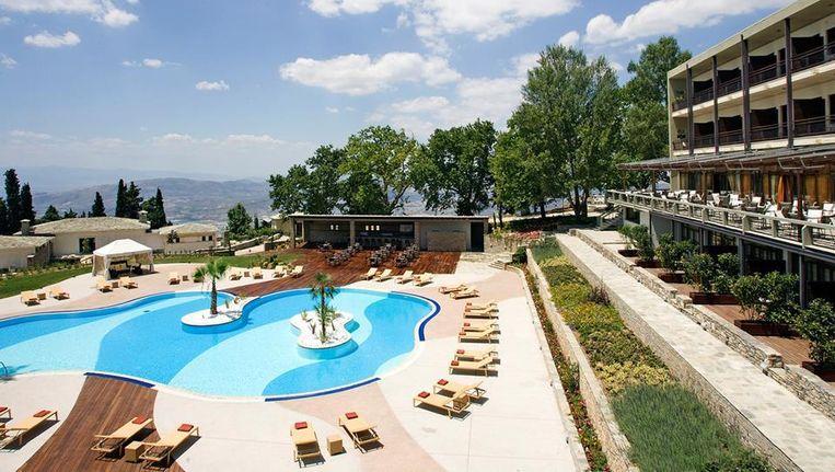 Het Xenia hotel in Skiathos. Beeld .