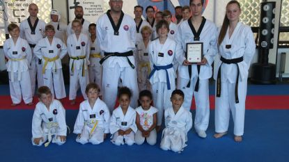 Taekwondoclub huldigt Branko Hoebeke