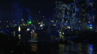 VIDEO. Prachtig: carnaval Venetië van start met spektakel op water