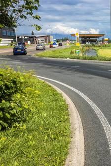 Motorrijder onderuit op spekgladde weg in IJsselstein