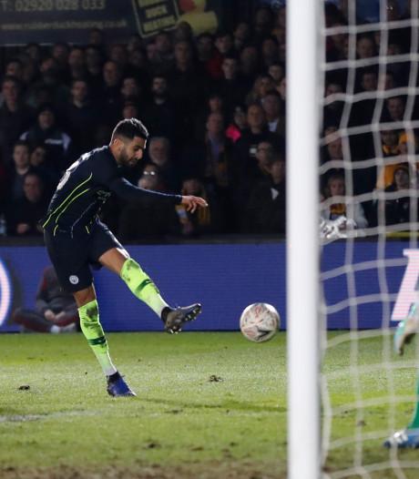 ManCity schudt Newport pas laat van zich af in FA Cup