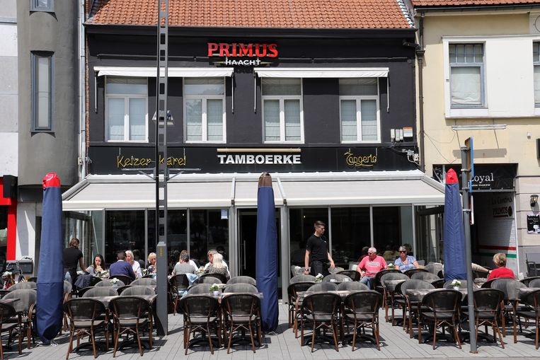 Brasserie Tamboerke op de Grote Markt in Turnhout