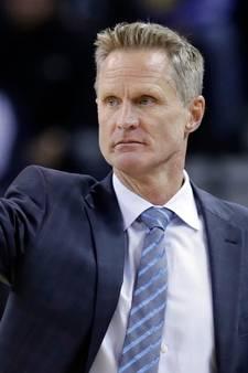 Steve Kerr nog niet klaar voor finale NBA