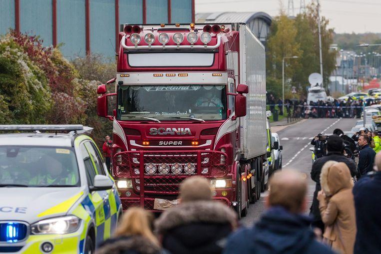 Bij het drama in Essex kwamen 39 mensen om het leven.
