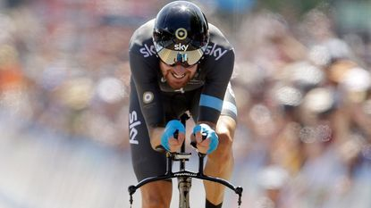 Bradley Wiggins superieur in tijdrit in Californië