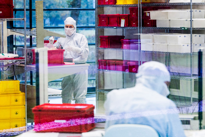 maxon motbor beschikt in Enschede over een eigen cleanroom, waar o.a. elektromotoren voor de chipindustrie worden geassembleerd.