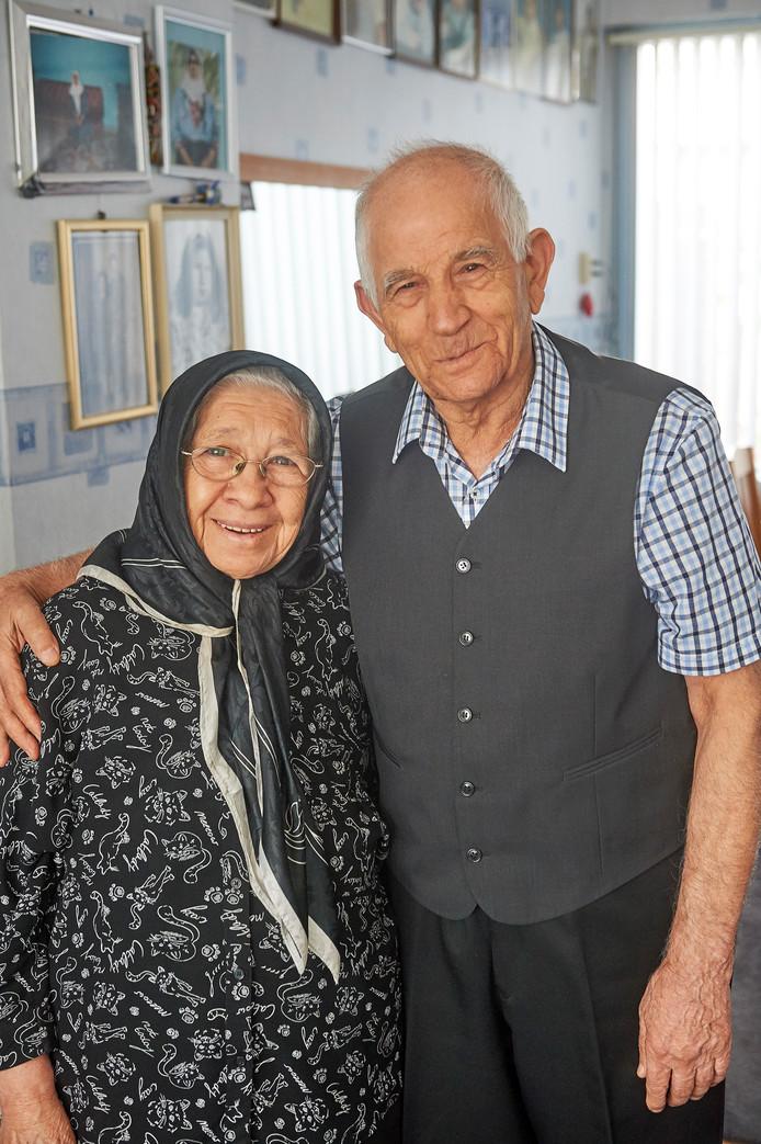 Hasan Huseyin Bozkurt en Fatma Bozkurt - Özkiyikci uit Oss.