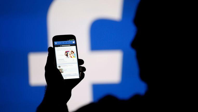 Facebook is veranderd in een drukke stadskern. Beeld REUTERS