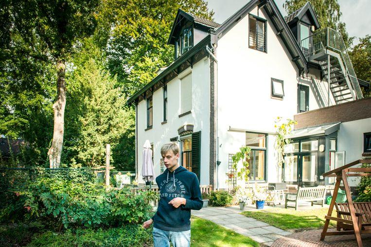 Boris woont nu in een instelling in Driebergen.  Beeld Linelle Deunk