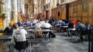 Opnieuw Bloksquare in Onze-Lieve-Vrouwekerk