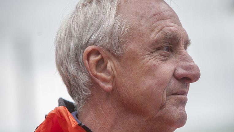 Johan Cruijff, in juni 2014. Beeld Photo News