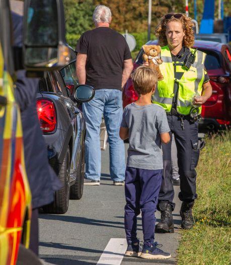 Hulpdiensten hebben handen vol aan dubbel ongeluk in Vreeland