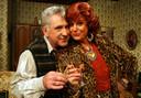 Johny Voners (Xavier) en Loes Van den Heuvel (Carmen) waren jaren een onafscheidelijk tv-koppel.