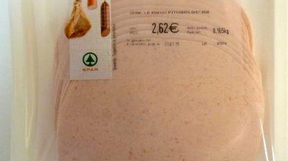 Kalfsworst in Middelkerkse Spar blijkt Parijse worst: opletten voor wie geen gluten verdraagt