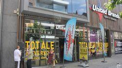 Sportketen United Brands op rand van faillissement