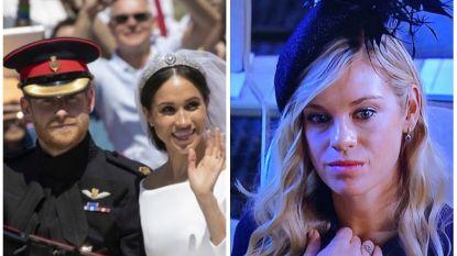 """""""Wanneer je ex trouwt en jij naar het trouwfeest moet komen"""": Chelsy's gezicht op huwelijk van prins Harry spreekt boekdelen"""
