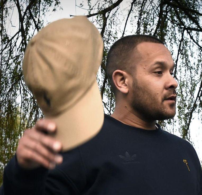Rapper Nosa deed een herexamen Nederlands. Beeld  Marcel van den Bergh / de Volkskrant