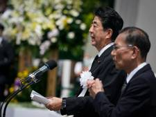 Zelfde speech voor twee herdenkingen: Japanse premier onder vuur