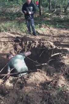 Granaat in Oisterwijkse bossen gevonden: 'Dit had héél slecht af kunnen lopen'