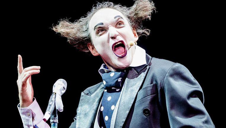 Housch-ma-Housch. De clown stelt teleur Beeld Remko de Waal/ANP