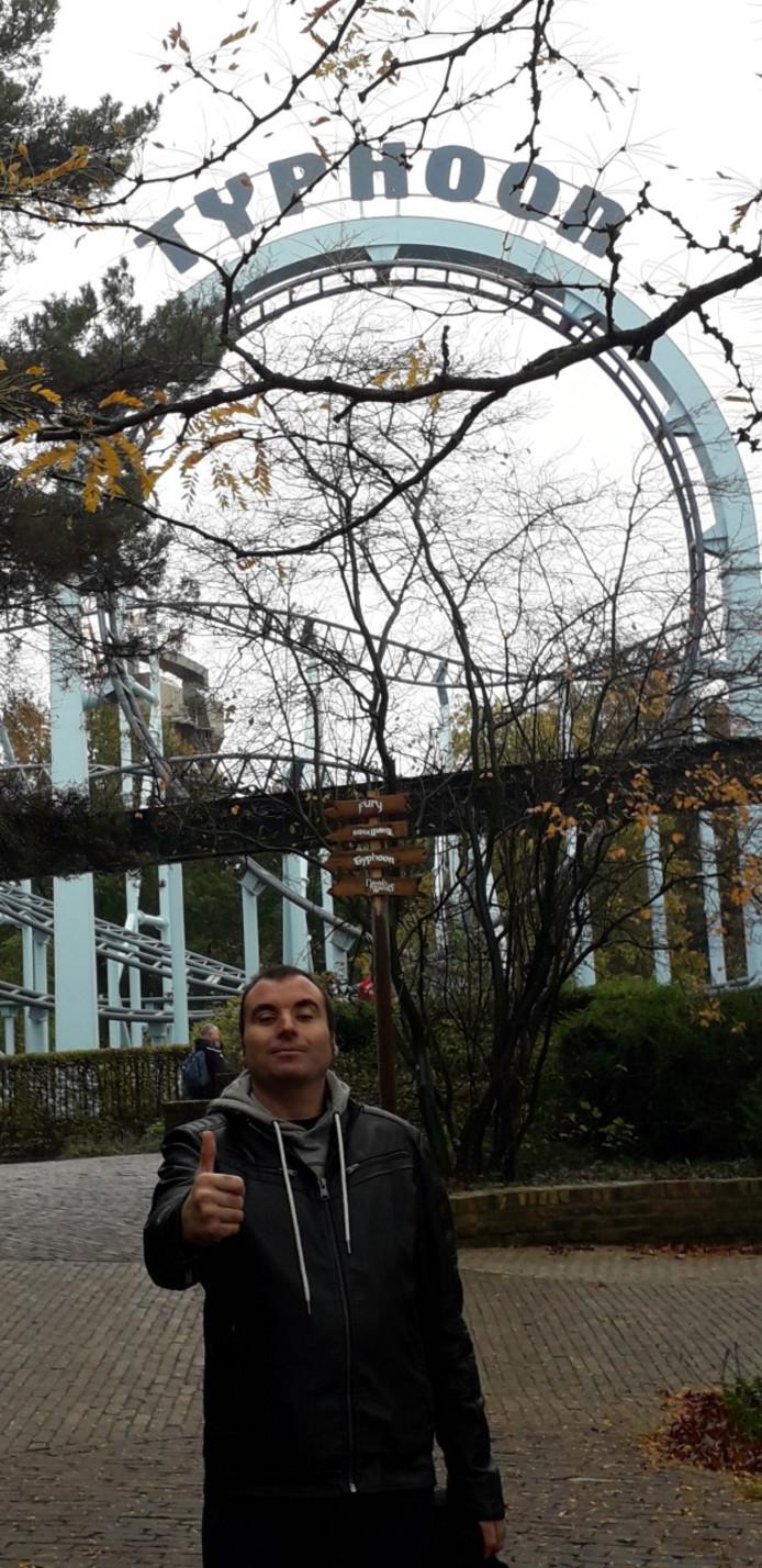 Glenn vindt een bezoek aan Bobbejaanland steeds weer top.