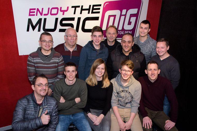 MIG breidt uit en daar zijn de radiomakers uitermate blij mee.