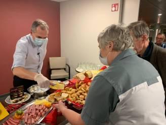 Minister Diependaele steekt handje toe in woonzorgcentrum in Brakel