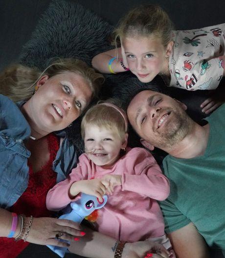 'Draakje' Hailey (4), die iedereen betoverde met haar ontwapenende lach, overleden aan neuroblastoomkanker
