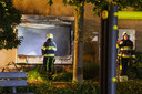 De brand in Berghem richtte veel schade aan.