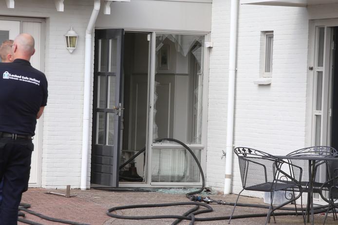 Korte explosie in woning in Velddriel.