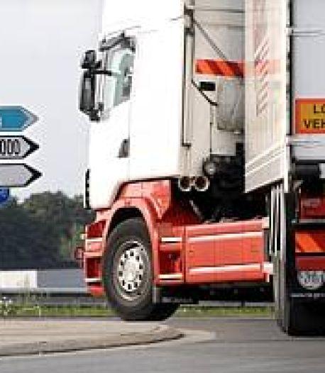 Gesteggel over parkeerplaatsen vrachtwagens in Breda