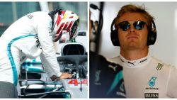 """Nico Rosberg bezorgd over 'wanhopige' Lewis Hamilton: """"Zo'n lichaamstaal heb ik nog nooit bij hem gezien"""""""