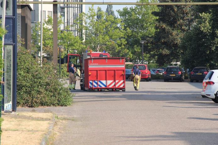 Bedrijfsongeval aan de Staverenweg in Deventer.