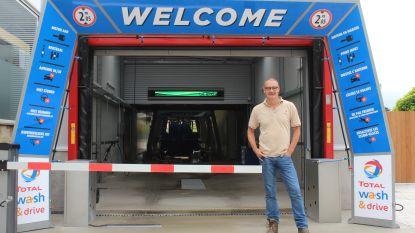 Disco terwijl je je auto wast: tankstation Total opent carwash met speciale LED-lichteffecten