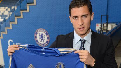 """Onze man in Engeland zwaait Hazard uit: """"Kampioen, ben je in vorm?"""""""