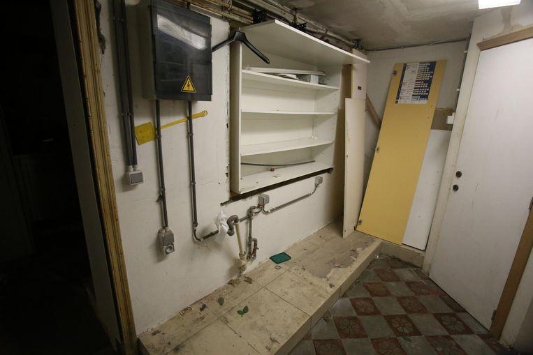 De vaatwasmachines zijn verdwenen.