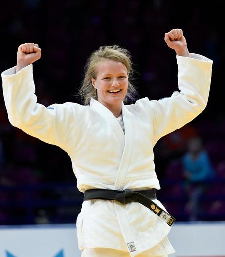 Eerste goud judoka Van Dijke op Grand Slam