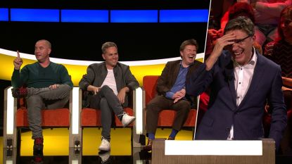 Vooral de lach overheerst en Peter Van de Veire blijft scoren: het beste uit aflevering 27 van 'De Slimste Mens'