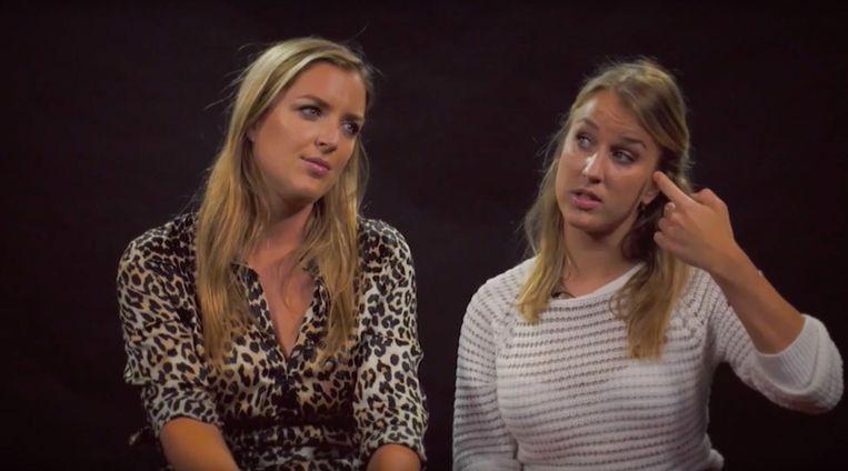 Kat Kerkhofs is samen met haar zus Lyn te zien in een nieuwe reeks 'Girls Talk' van Studio Brussel.