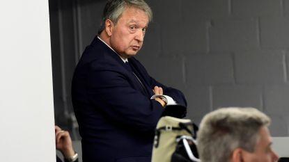 """Van Holsbeeck: """"Ik wacht vol ongeduld op een gesprek met Coucke"""""""
