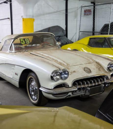 Manhattan geeft autoschat bloot: 36 klassieke sportwagens duiken op