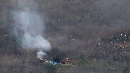 Nieuwe beelden: mountainbiker filmde wrak van helikopter Kobe Bryant minuten na crash