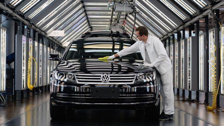 Een model van Volkswagen Beeld anp