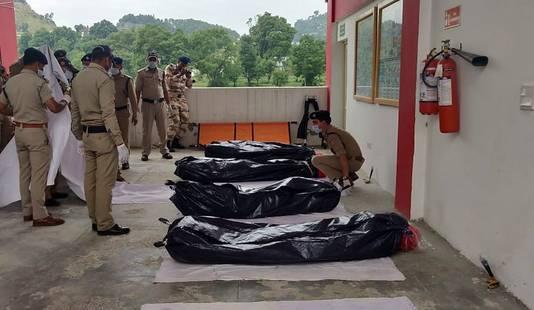 Les corps de sept des huit alpinistes ont été retrouvés.