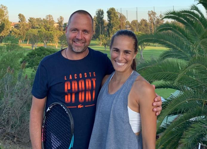 Philippe Dehaes et Monica Puig