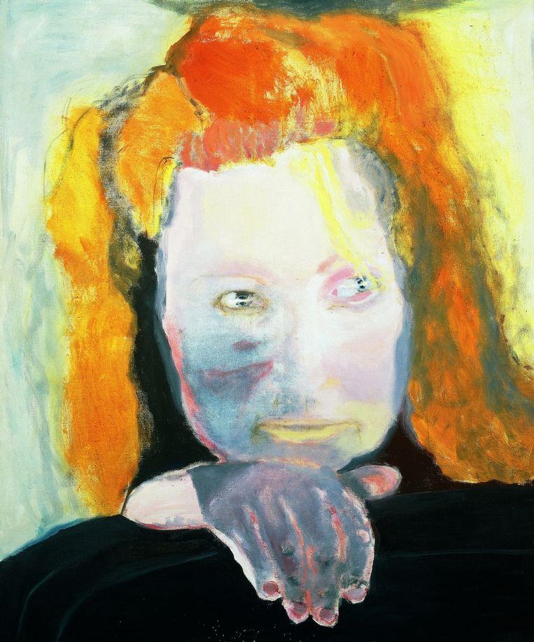 Het Kwaad is Banaal, 1984 Beeld Marlene Dumas