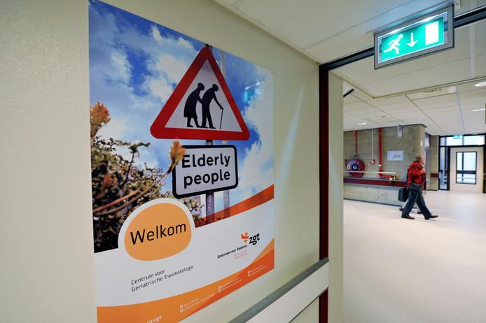 Centrum voor Ouderen van het ZGT in Almelo, vierde verdieping.