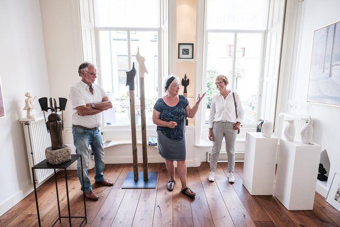 Galerie Grietje was wel open op deze culturele zondag.